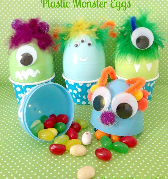 Plastic Monster Eggs