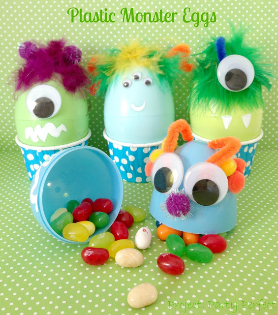 Plastic Monster Eggs