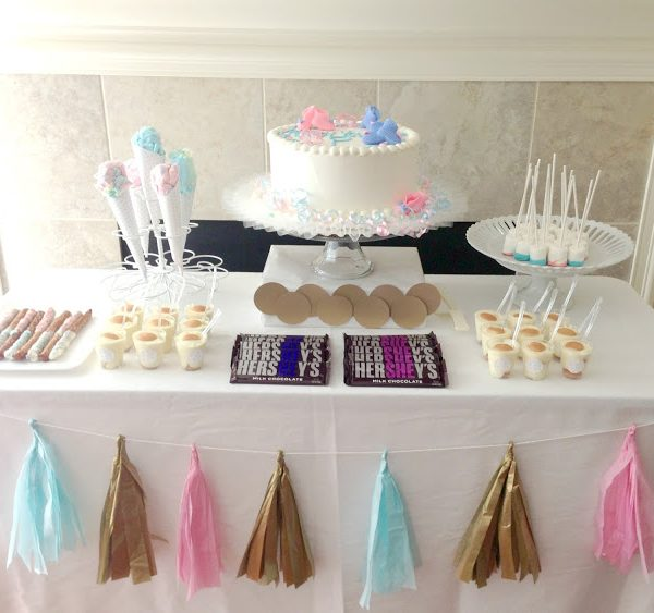 Gender Reveal Party {Pink or Blue}