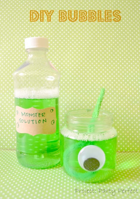 DIY Monster Bubbles