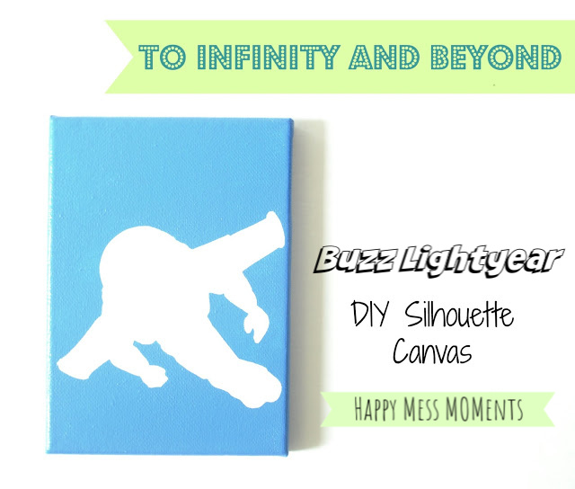 Toy Story Craft: DIY Buzz Lightyear Silhouette
