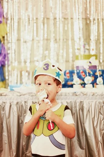 Buzz Lightyear Themed Birthday Party