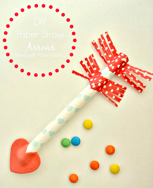Valentine's Day: Paper Straw Arrows