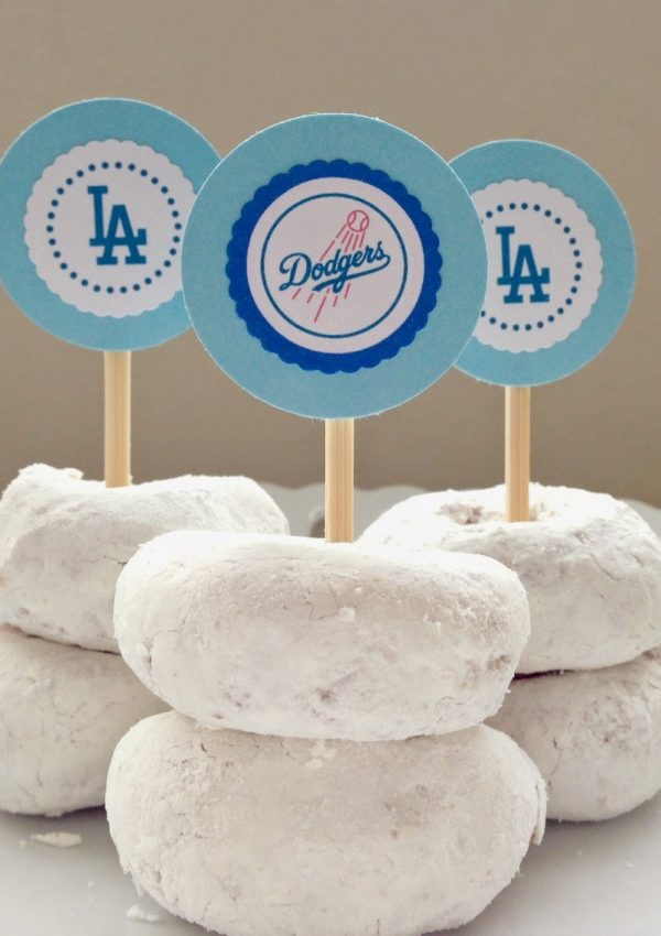 Go Dodgers! Free Printables