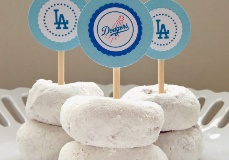 Go Dodgers! Free Printables