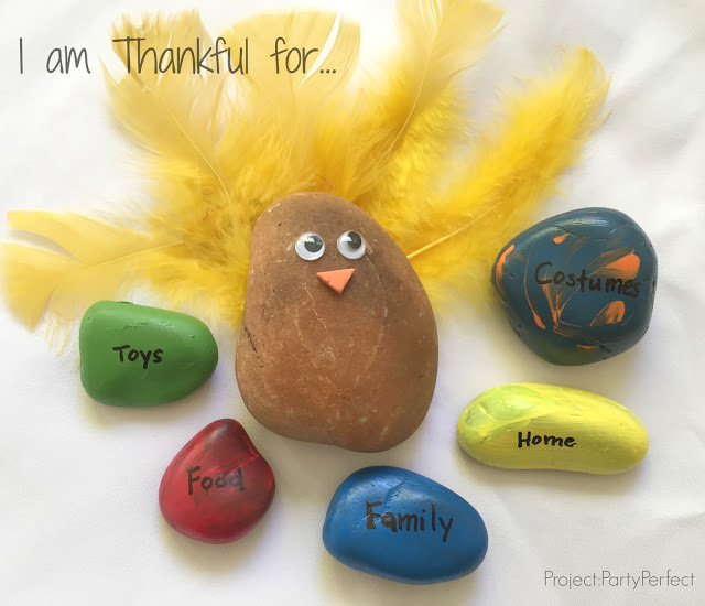 Thankful Rock craft