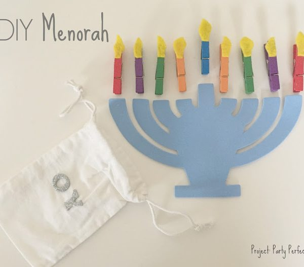 KId-Friendly Menorah