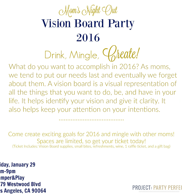 Vision Board Party || Event