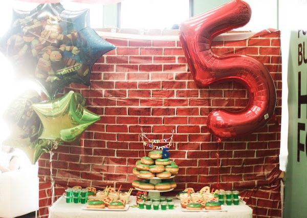 Teenage Mutant Ninja Turtles || Birthday Party