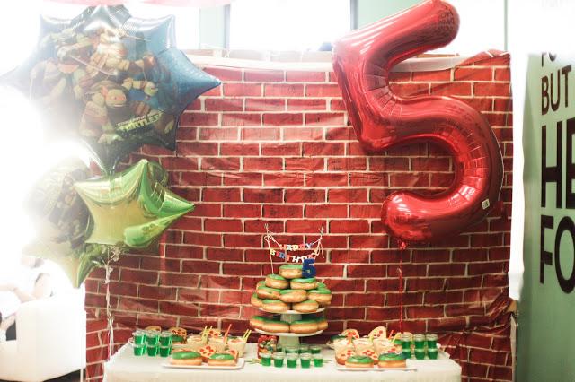 Teenage Mutant Ninja Turtles || Birthday Party