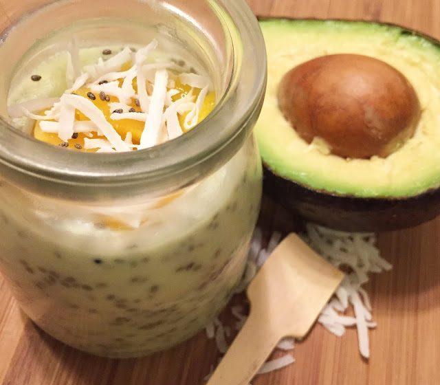 Avocado Chia seed Pudding || Recipe