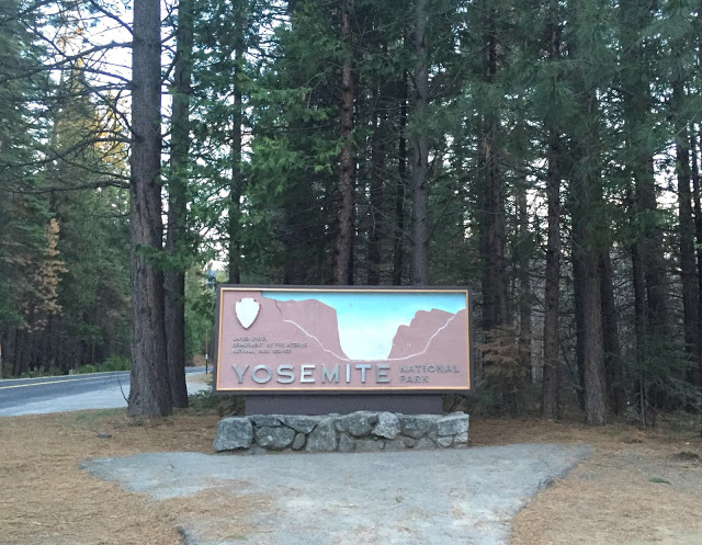 Our first trip to Yosemite National Park.