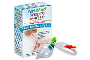 NeilMed Naspira Nasal-Oral Aspirator.