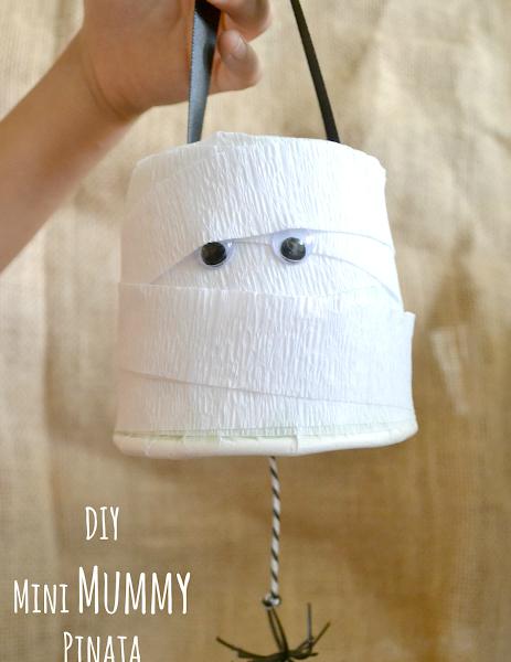 DIY: Mini Mummy Pinata