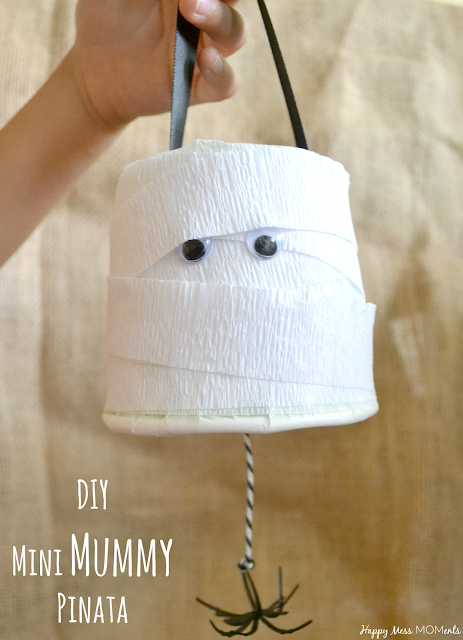 DIY: Mini Mummy Pinata