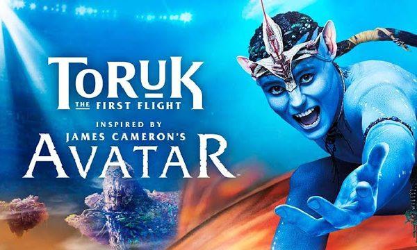 Cirque du Soleil meets Avatar