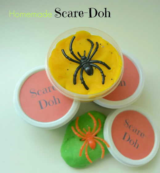 DIY Scare-Doh + Free Printable