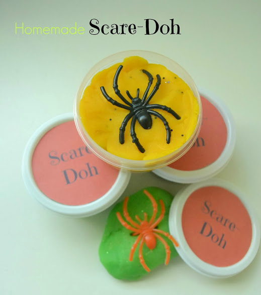 Non-Candy Halloween Treats: Scare-Doh