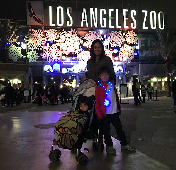 A Night at L.A. Zoo Lights
