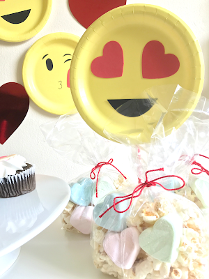 Emoji Themed Valentine's Day Party