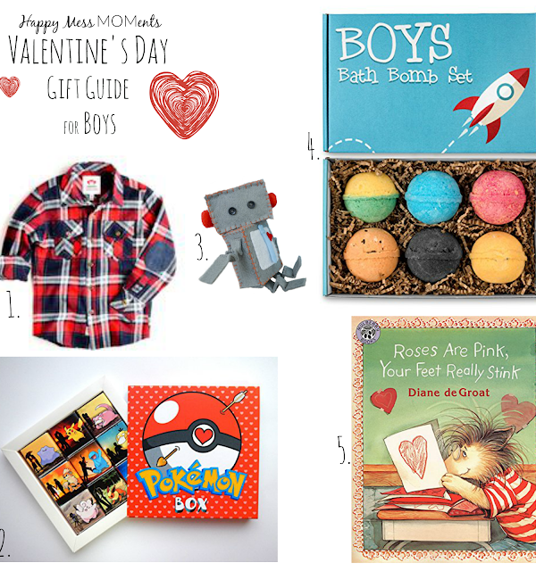Valentine's Day Gift Guide for Boys
