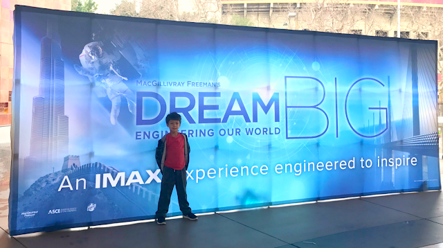 Dream Big 3D IMAX at the California Science Center {Giveaway}