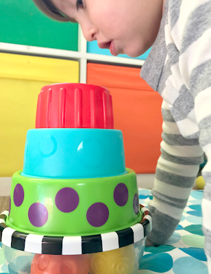 Sassy Stack 'n Dunk Toy {Giveaway}