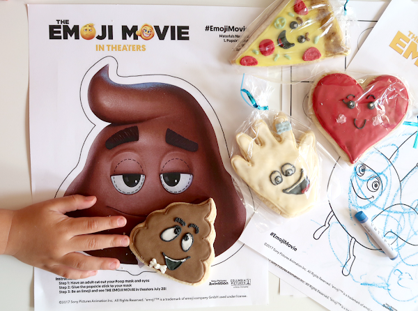 {Free Printables} The EMOJI Movie Activity Book