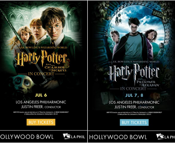 Harry Potter in Concert at the Hollywood Bowl