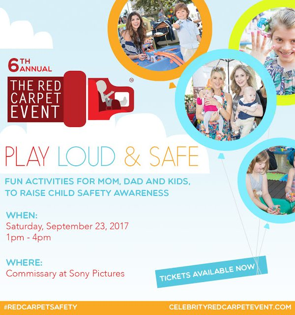 The 6th. Annual Celebrity Red CARpet Safety Event