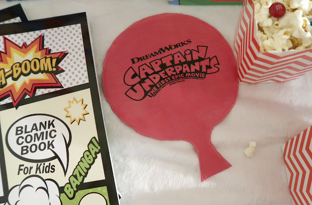 Captain Underpants Sleepover party