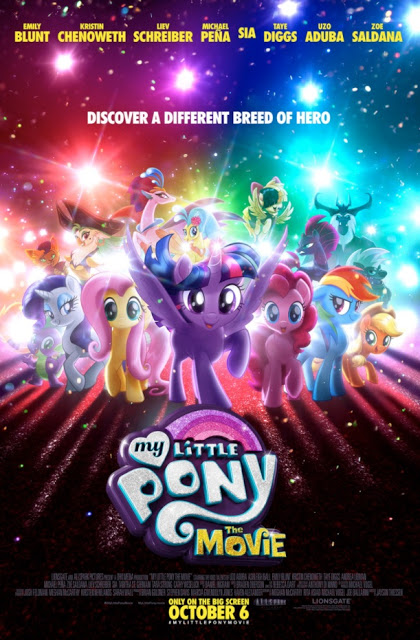 My Little Pony Movie + Activity Sheets