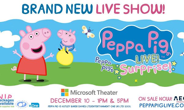 Peppa Pig LIVE! at Microsoft Theater {Giveaway}
