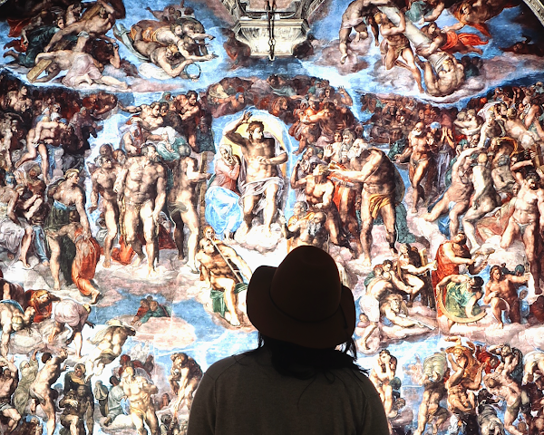 View UP CLOSE: Michelangelo's Sistine Chapel at Westfield Topanga