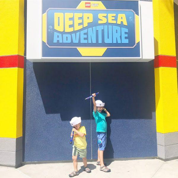 Dive Into LEGOLAND CA: Deep Sea Adventure Ride