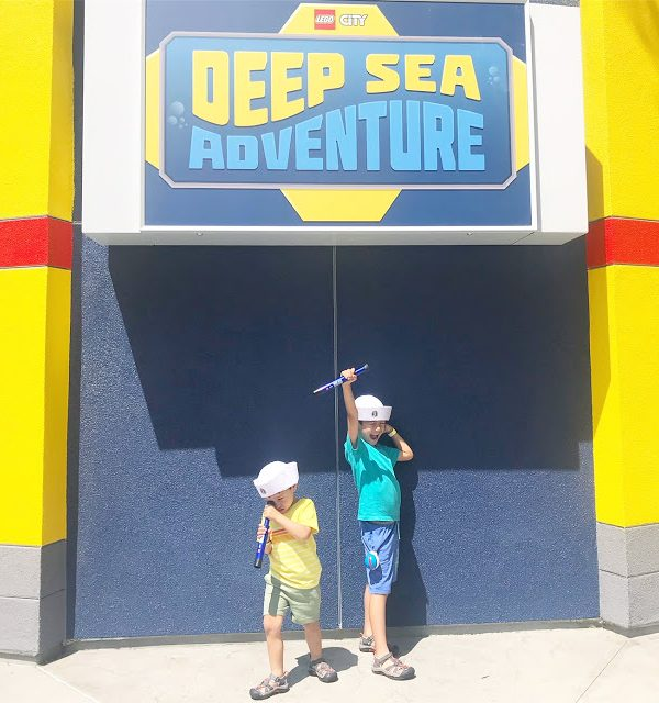 Dive Into LEGOLAND CA: Deep Sea Adventure Ride