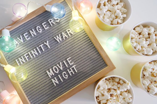 Avengers Infinity War: Family Movie Night