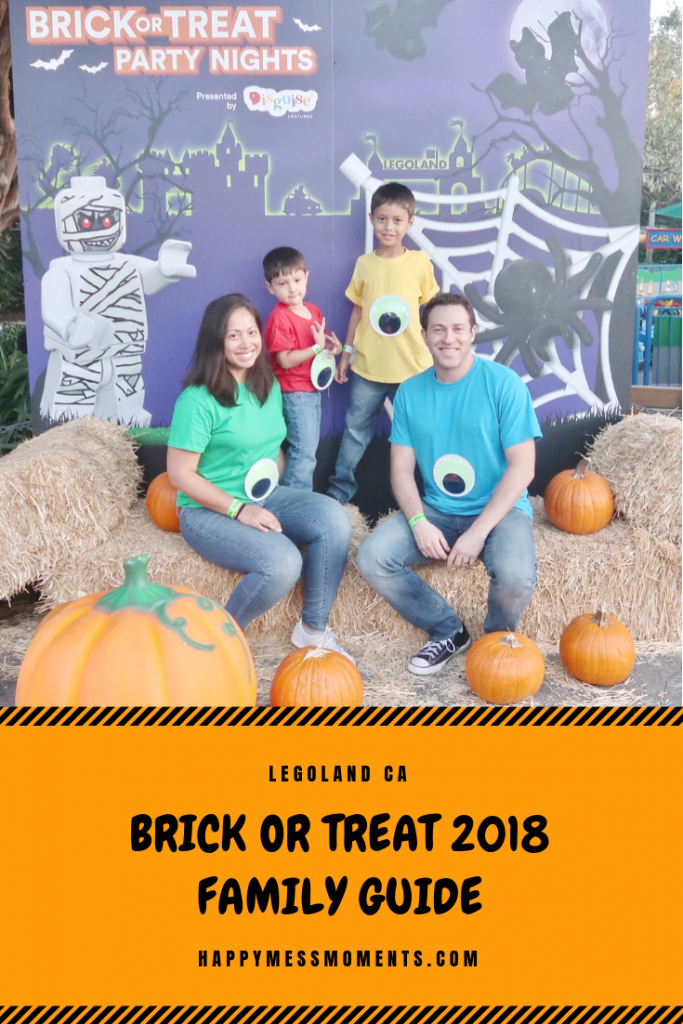 LEGOLAND CA Brick or Treat 2018 Family Guide