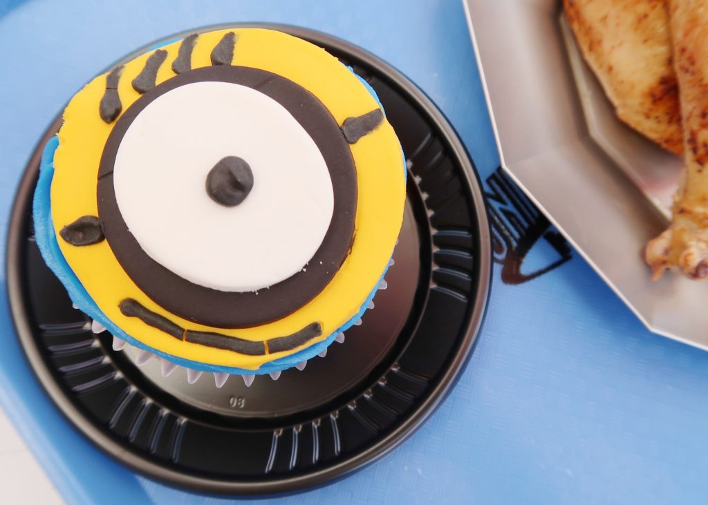 Minion Cupcake at Universal Studios Hollywood