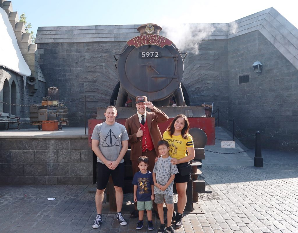 Universal Studios Hollywood with kids