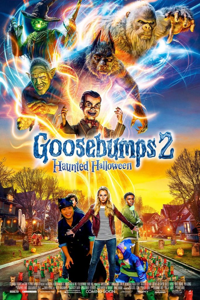 Goosebumps 2 Haunted Halloween screening event