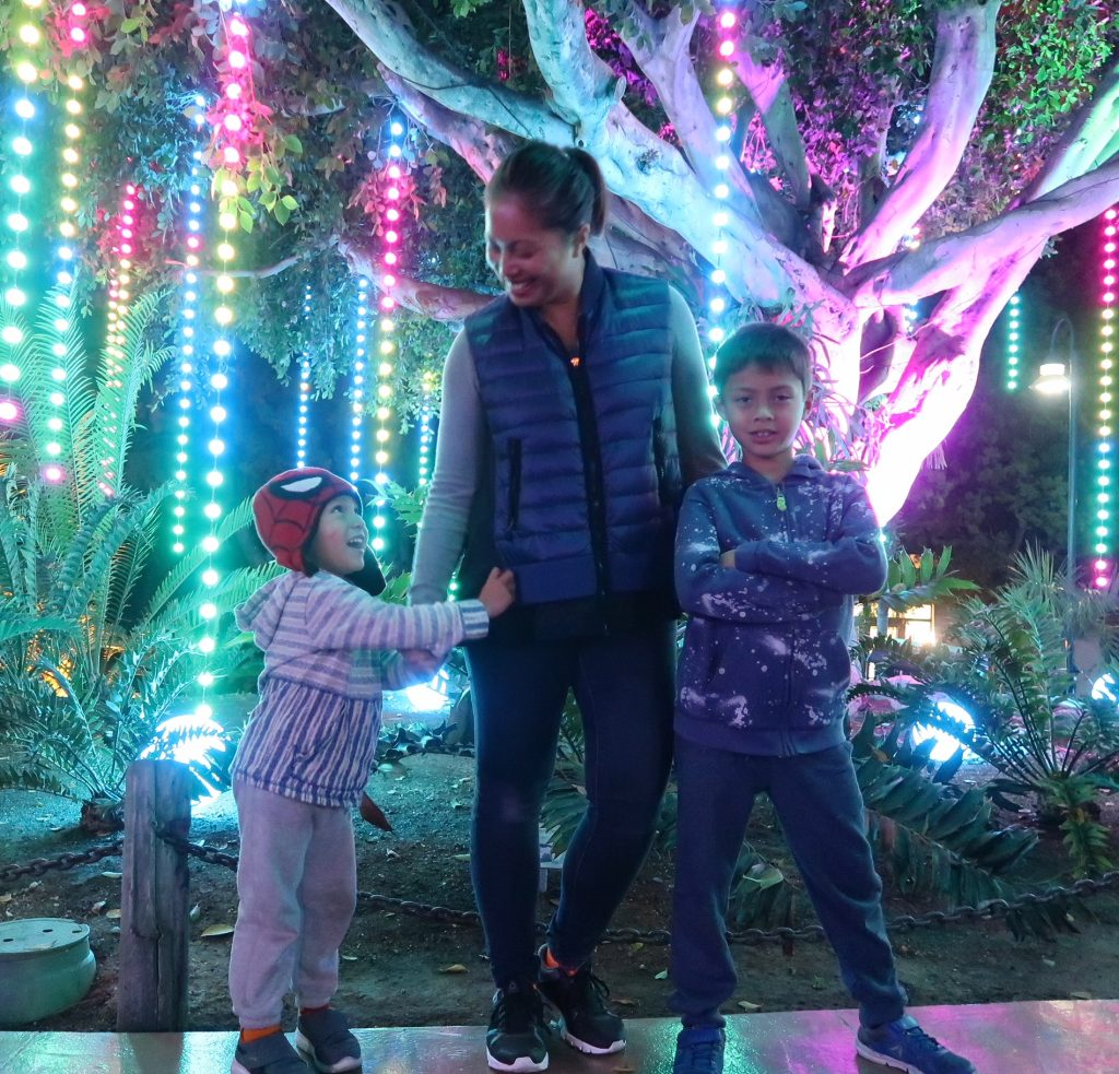 LA ZOO Lights 2018
