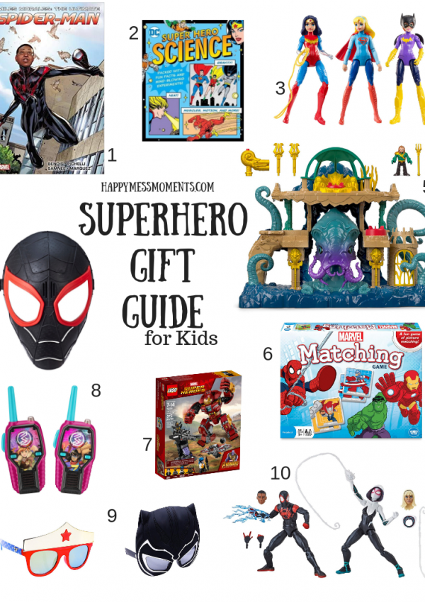Superhero Gift Guide for Kids