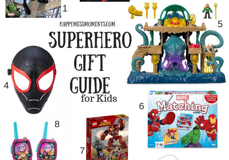 Superhero Gift Guide for Kids