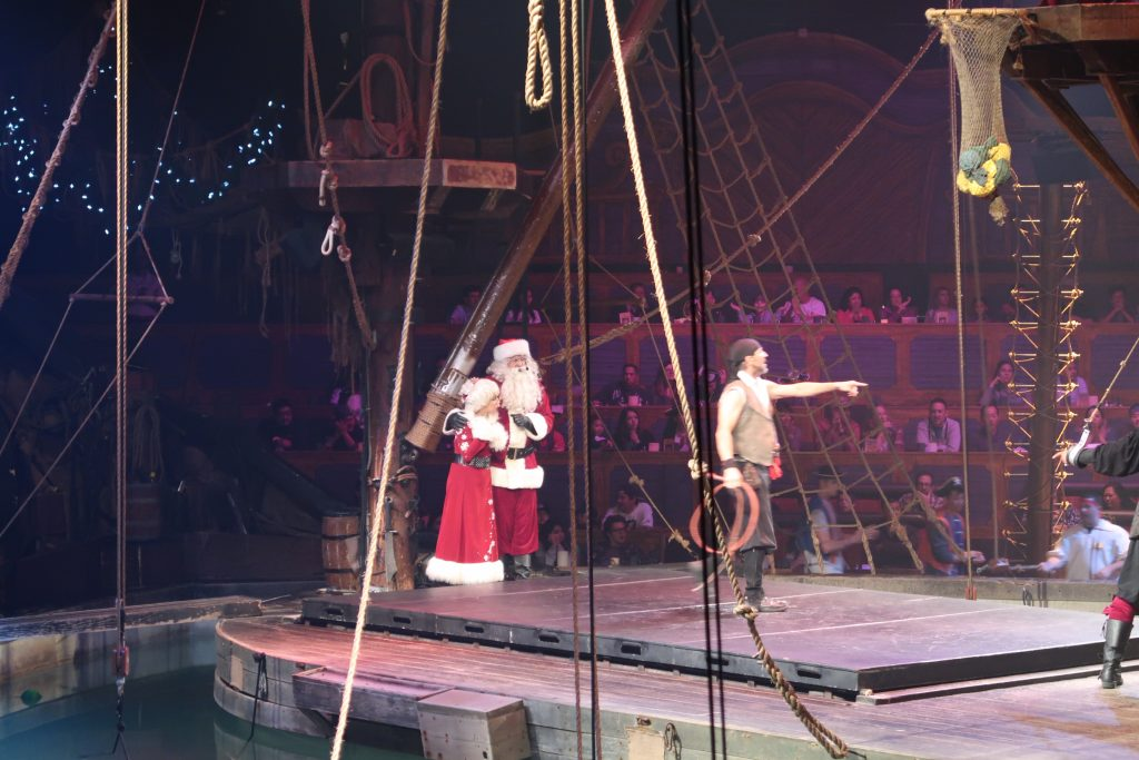 Pirates Take Christmas Show