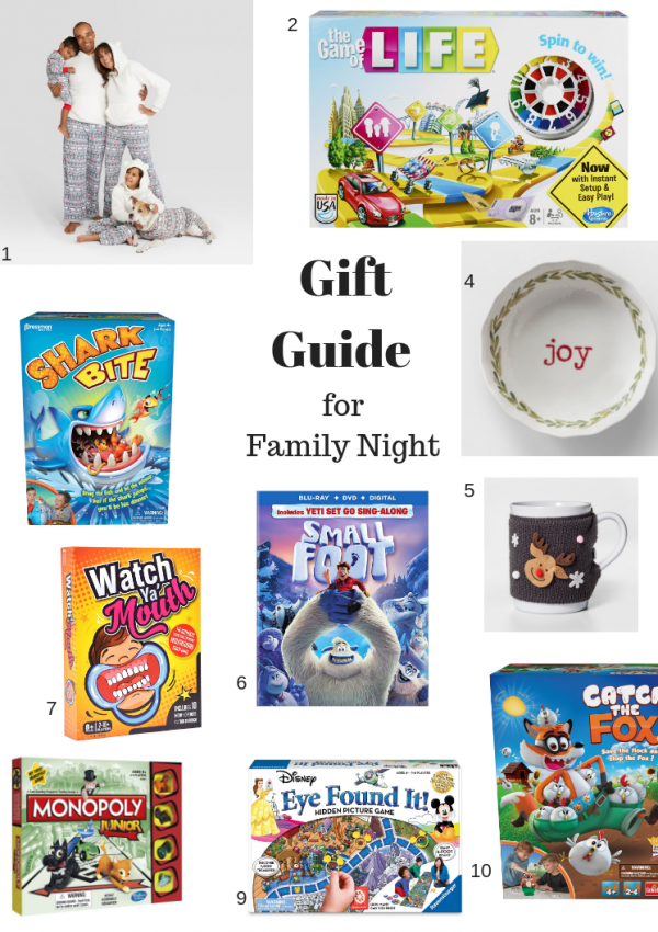Gift Guide for Family Night