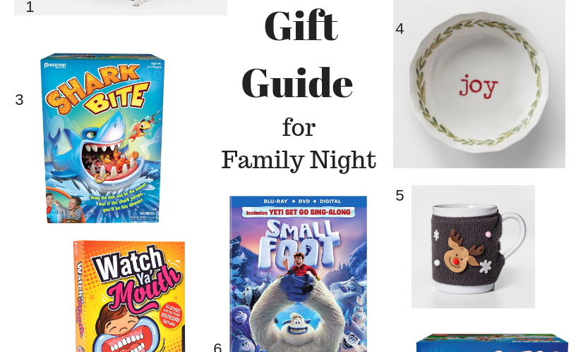Gift Guide for Family Night.