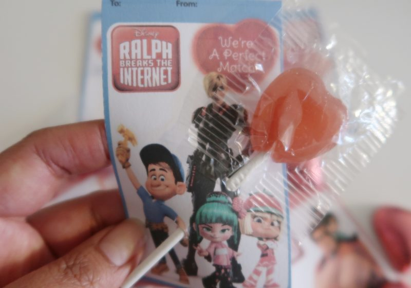 Disney's Ralph Breaks The Internet: Valentine's Day Printable