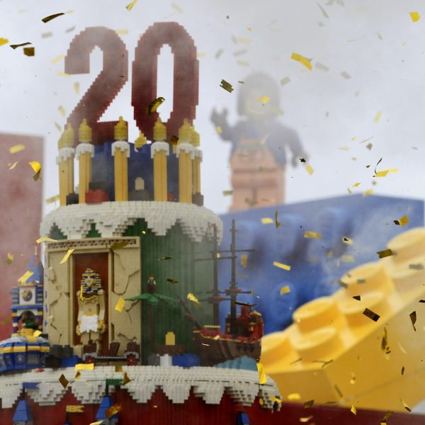 LEGOLAND California celebrates 20 years.