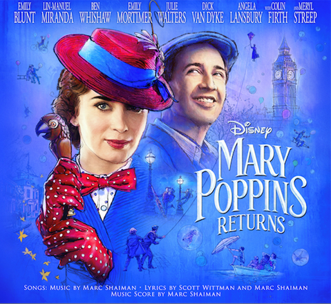 Mary Poppins Returns on Blu-Ray